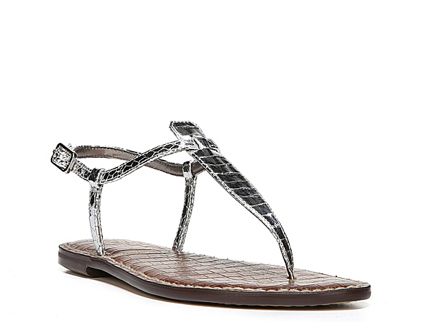 The Gigi sandal from Sam Edelman will instantly boost your look. With a classic slingback design and a cushioned footbed, this pair gives off vacation-ready appeal.