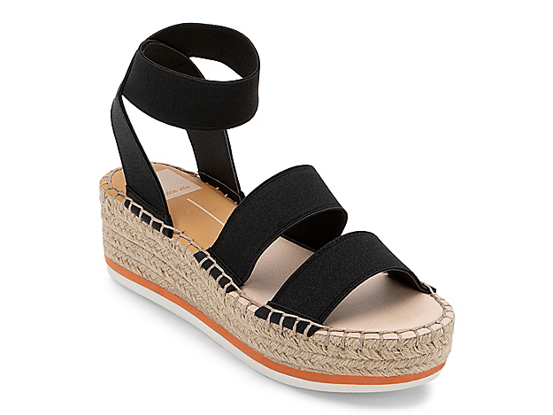 The Lury wedge sandal from Dolce Vita rocks a balanced mix of sporty and trendy style. An espadrille heel complements the EVA midsole for a pair you can wear with anything from tracksuits to flowy dresses!