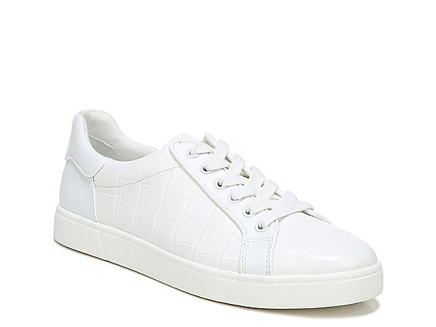 Hype up your daily look by pairing the Devin sneaker from Circus by Sam Edelman. Delicately touched with croco embossing, this lace-up sneaker has a comfortable footbed and long-lasting outsole designed to keep you at ease.