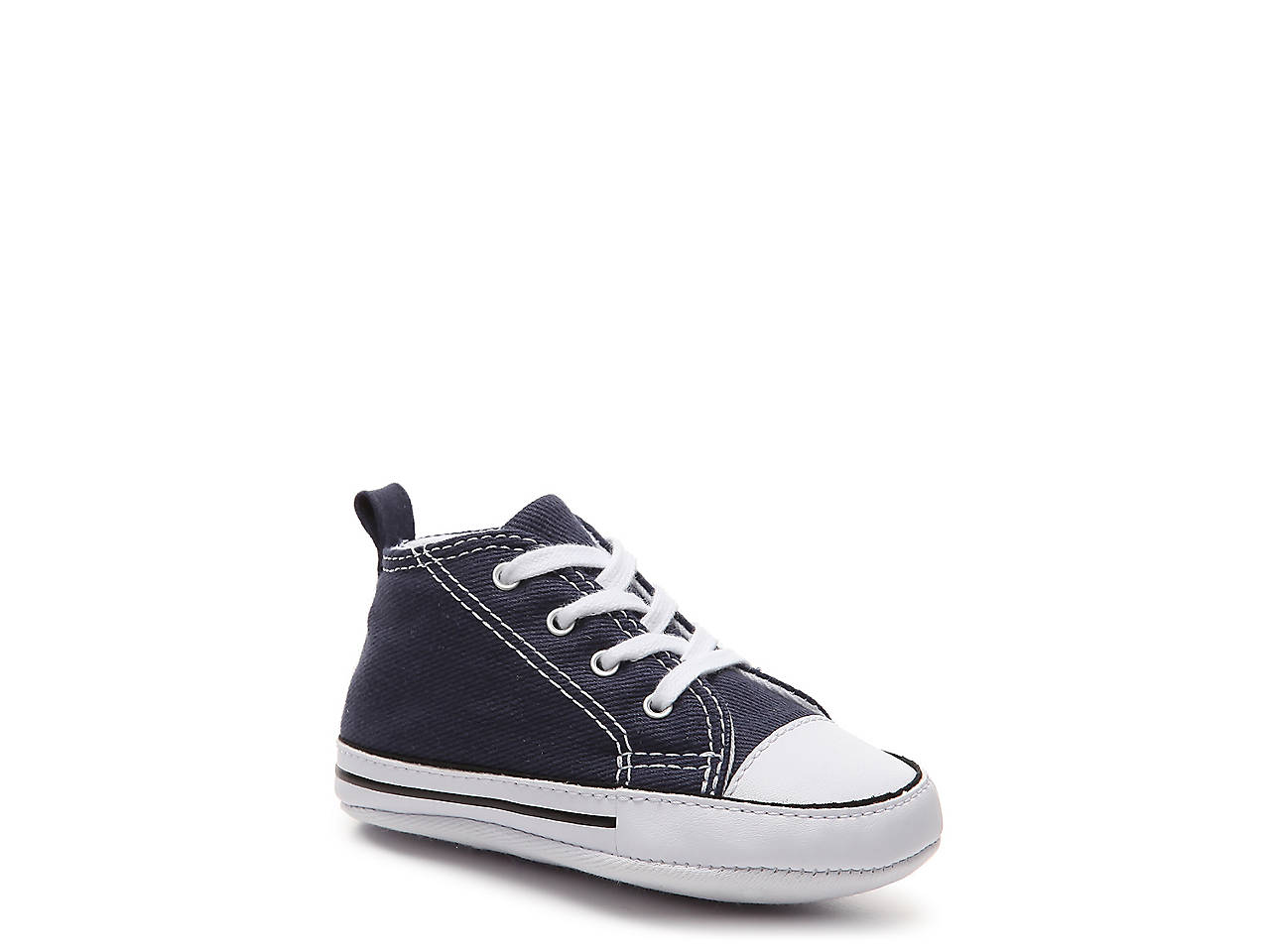 87fa6df954a1db Converse Chuck Taylor All Star First Star Infant Crib Shoe Kids ...