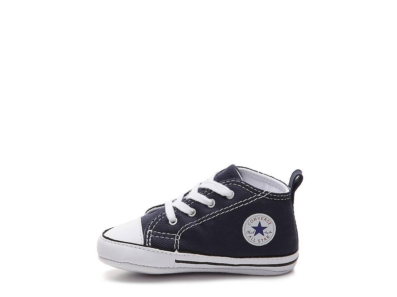 7084c60a29 Converse Chuck Taylor All Star First Star Infant Crib Shoe Kids ...