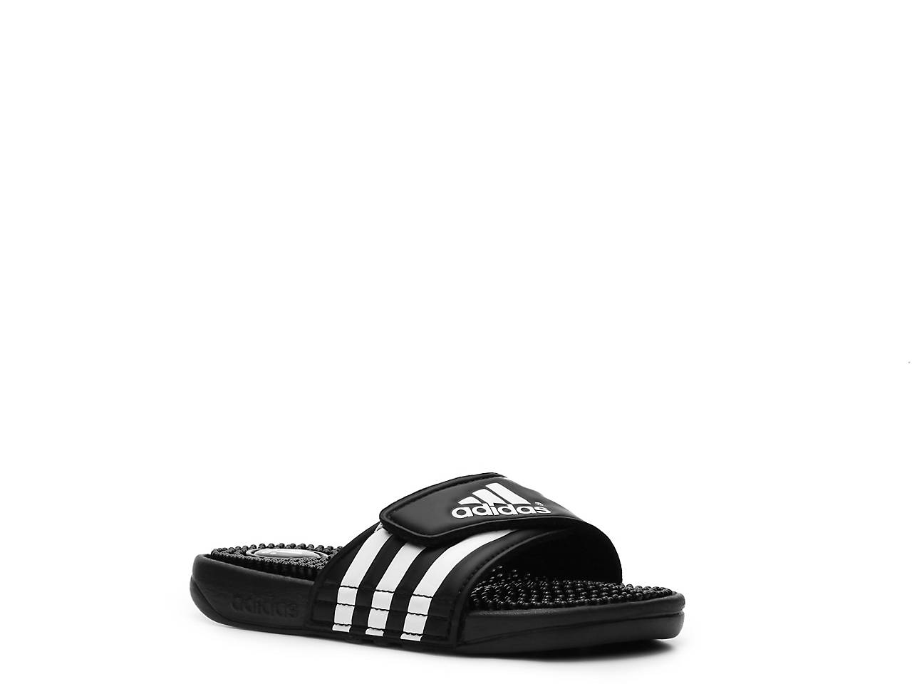 22ca781fb11a adidas Adissage Toddler   Youth Slide Sandal Kids Shoes