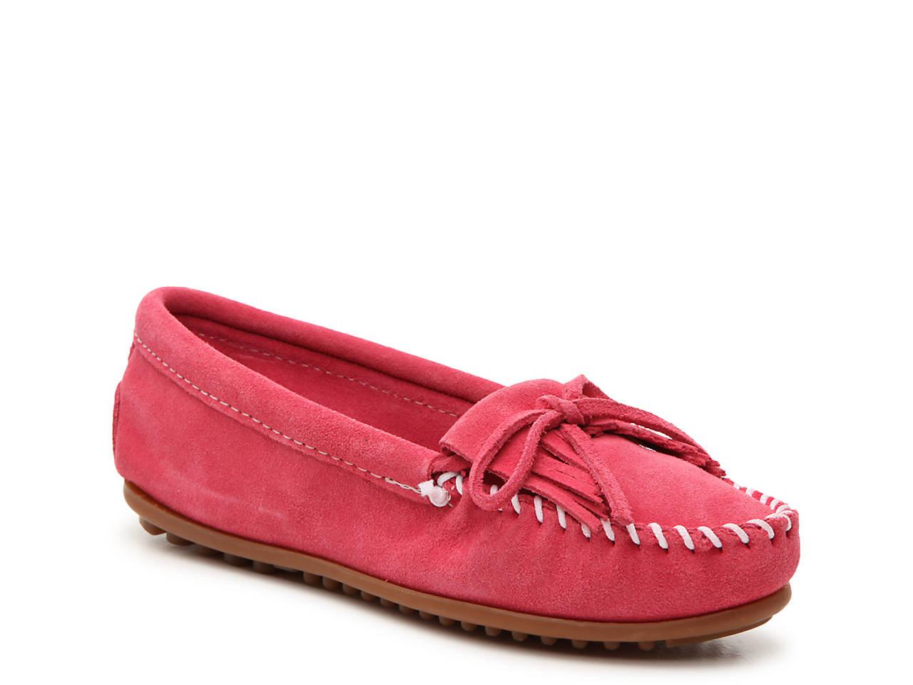 c952fb9f388 Minnetonka Kilty Moccasin Women s Shoes