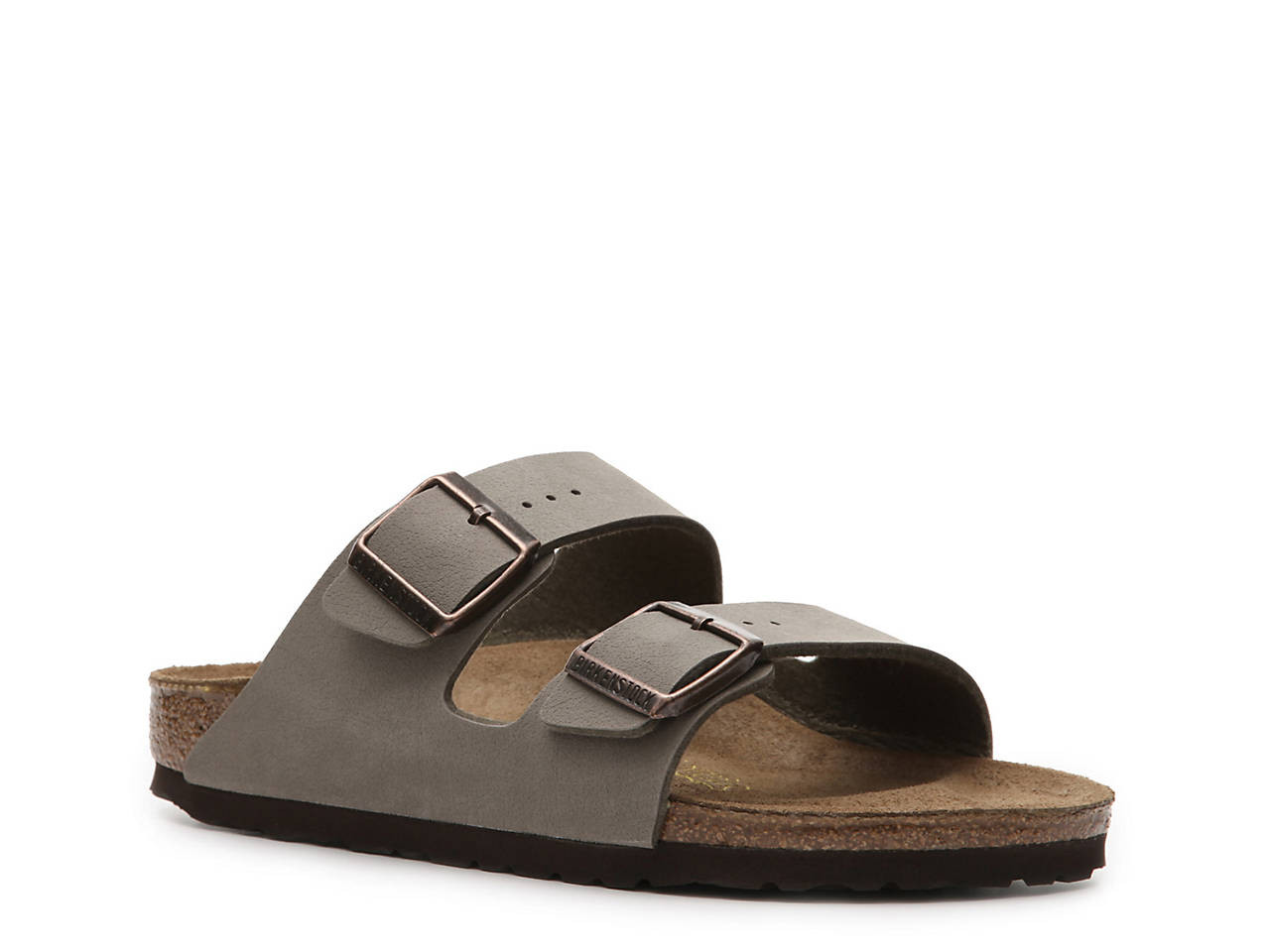 BIRKENSTOCK Oiled Leather Gizeh Soft Footbed Iron Outlet Online