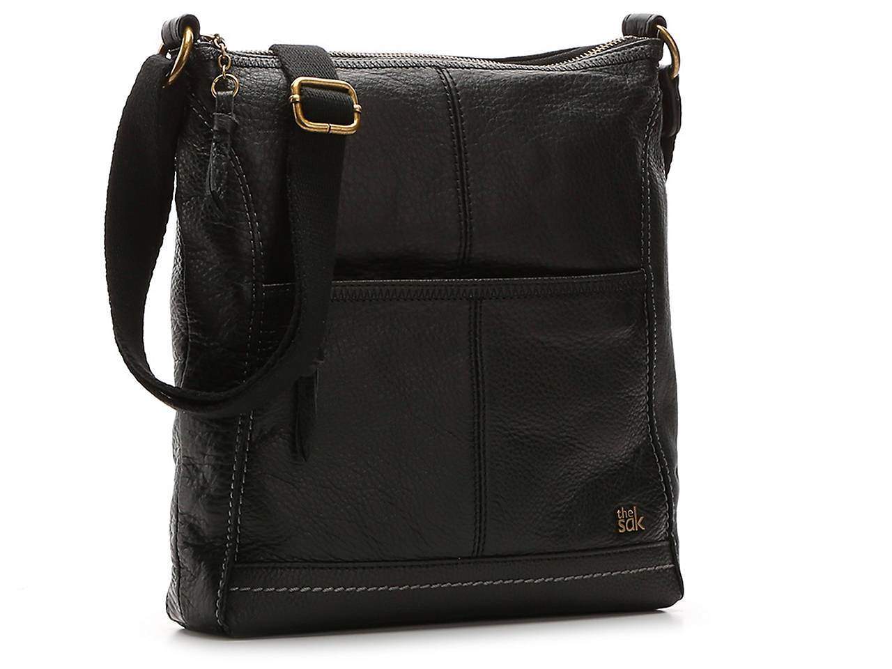 Iris Leather Crossbody Bag