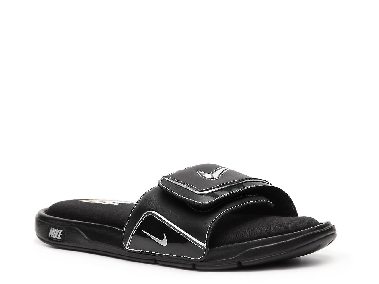 winter slide comfort autumnwinter men metallic autumn silver white nike p sandal shop shoes us black c comforter blackmetallic outlet silverwhite