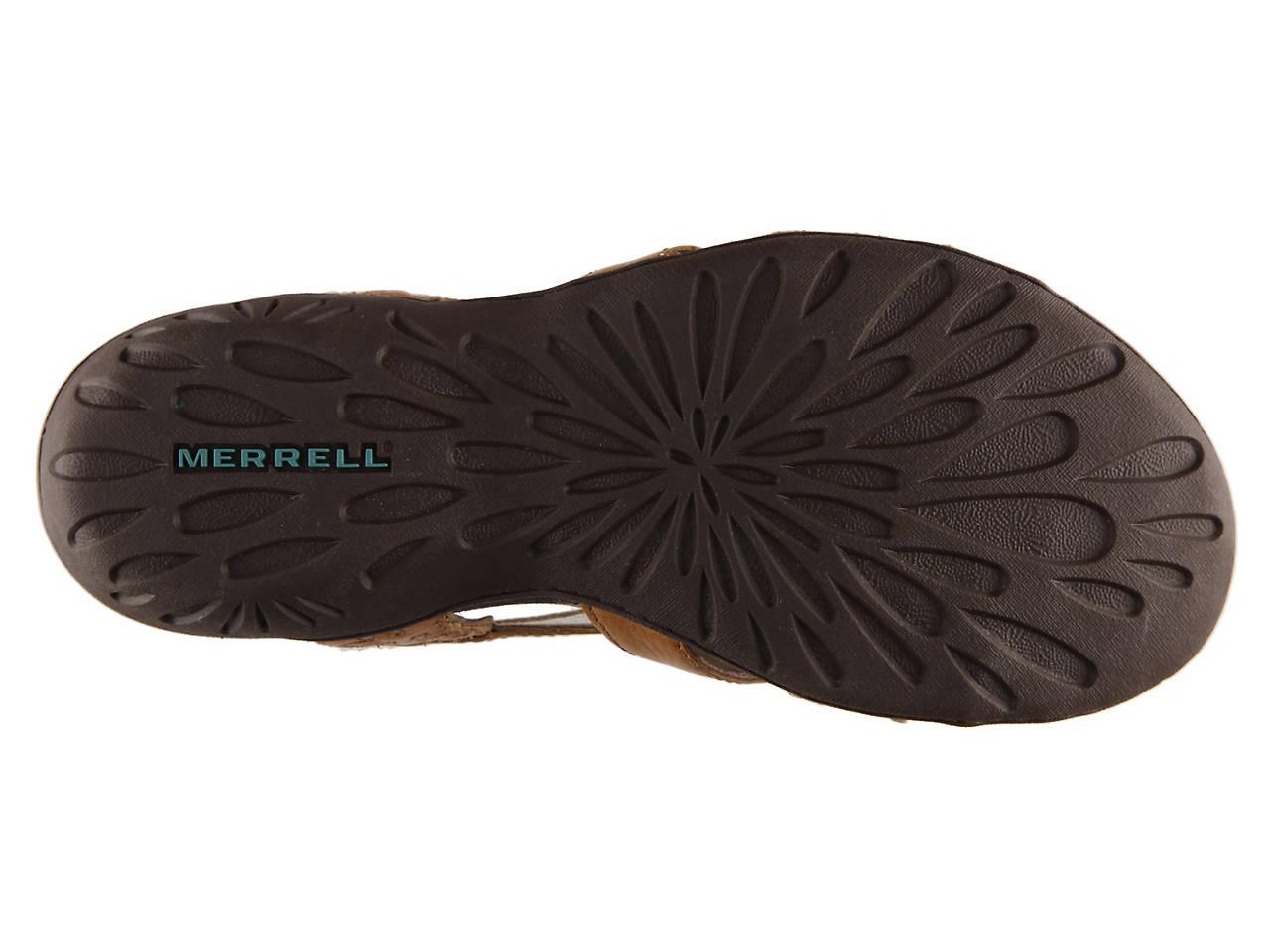 ebbe1b7d64a0 Merrell Bassoon Flat Sandal Women s Shoes