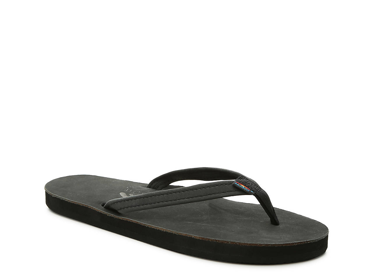 Rainbow Narrow Strap Flip Flop Womens Shoes  Dsw-4847