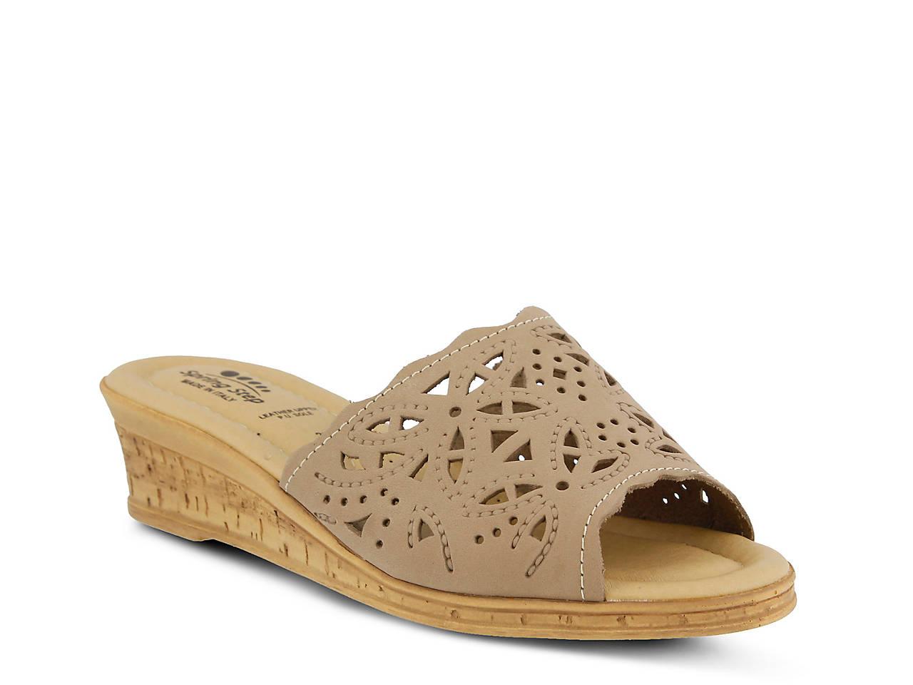 efe1b8f7e61 Spring Step Estella Wedge Sandal Women s Shoes