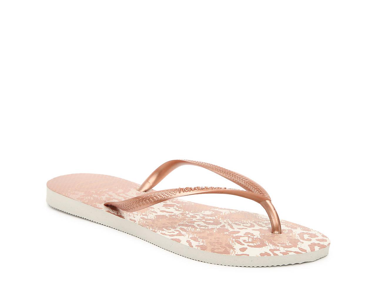 9f23034ca Havaianas Slim Animals Flip Flop Women s Shoes