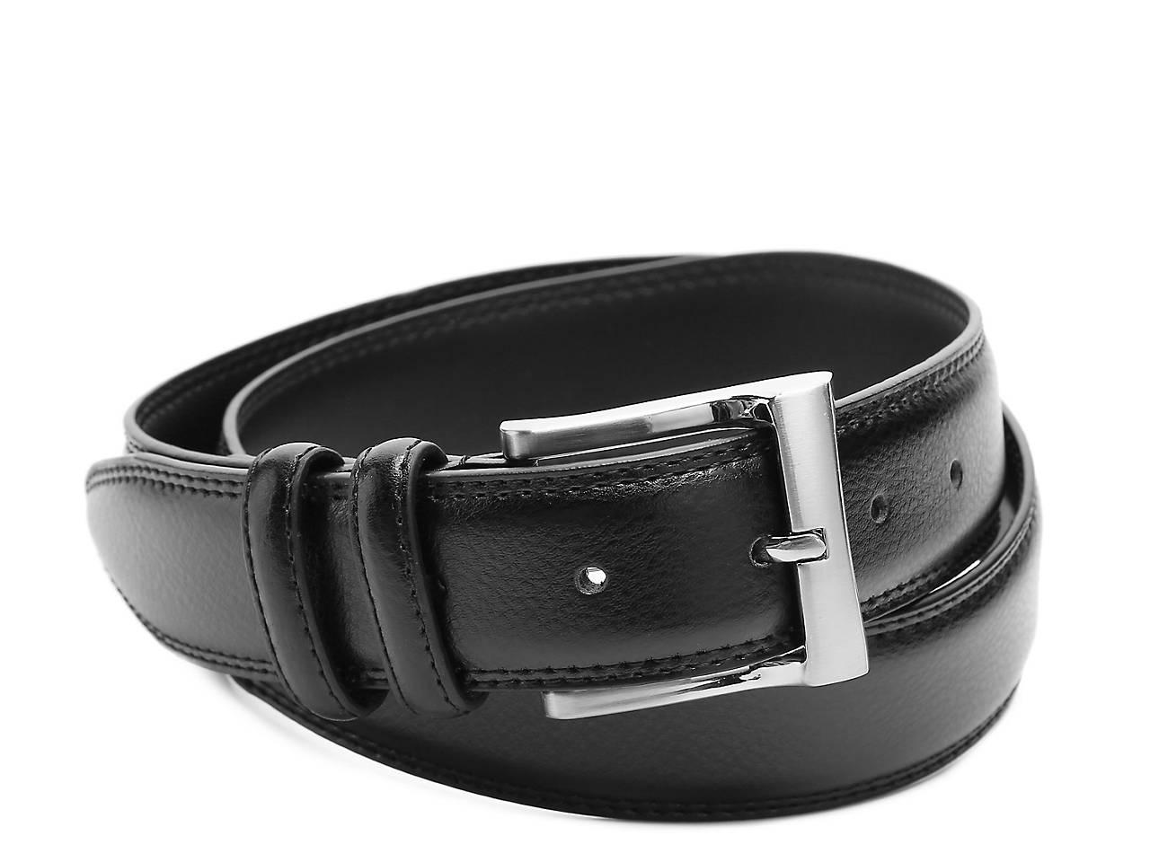 26613a5e6d6c Florsheim Pebble Men s Leather Belt Men s Handbags   Accessories