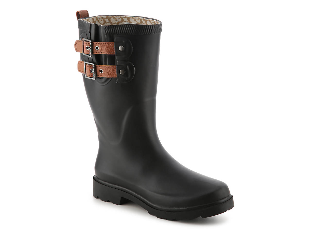 Chooka Top Solid Mid Rain Boot J4HFGrbS