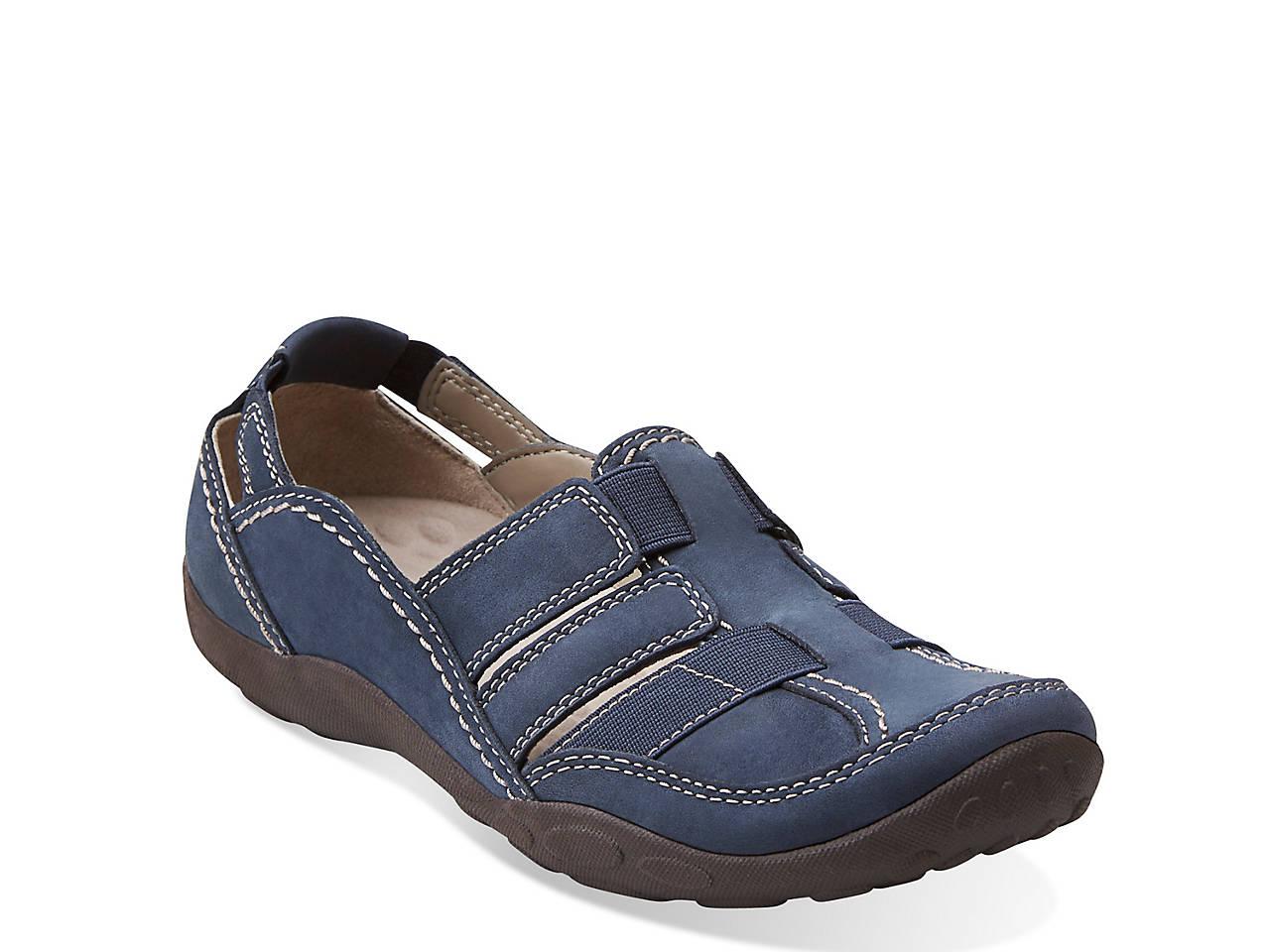 3b92e7d4c129 Clarks Haley Stork Sport Flat Women s Shoes