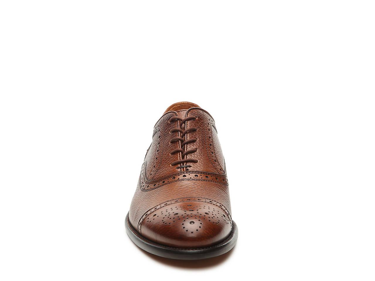 Mercanti Fiorentini Tumbled Cap Toe Oxford Men s Shoes  b7fdabbb722