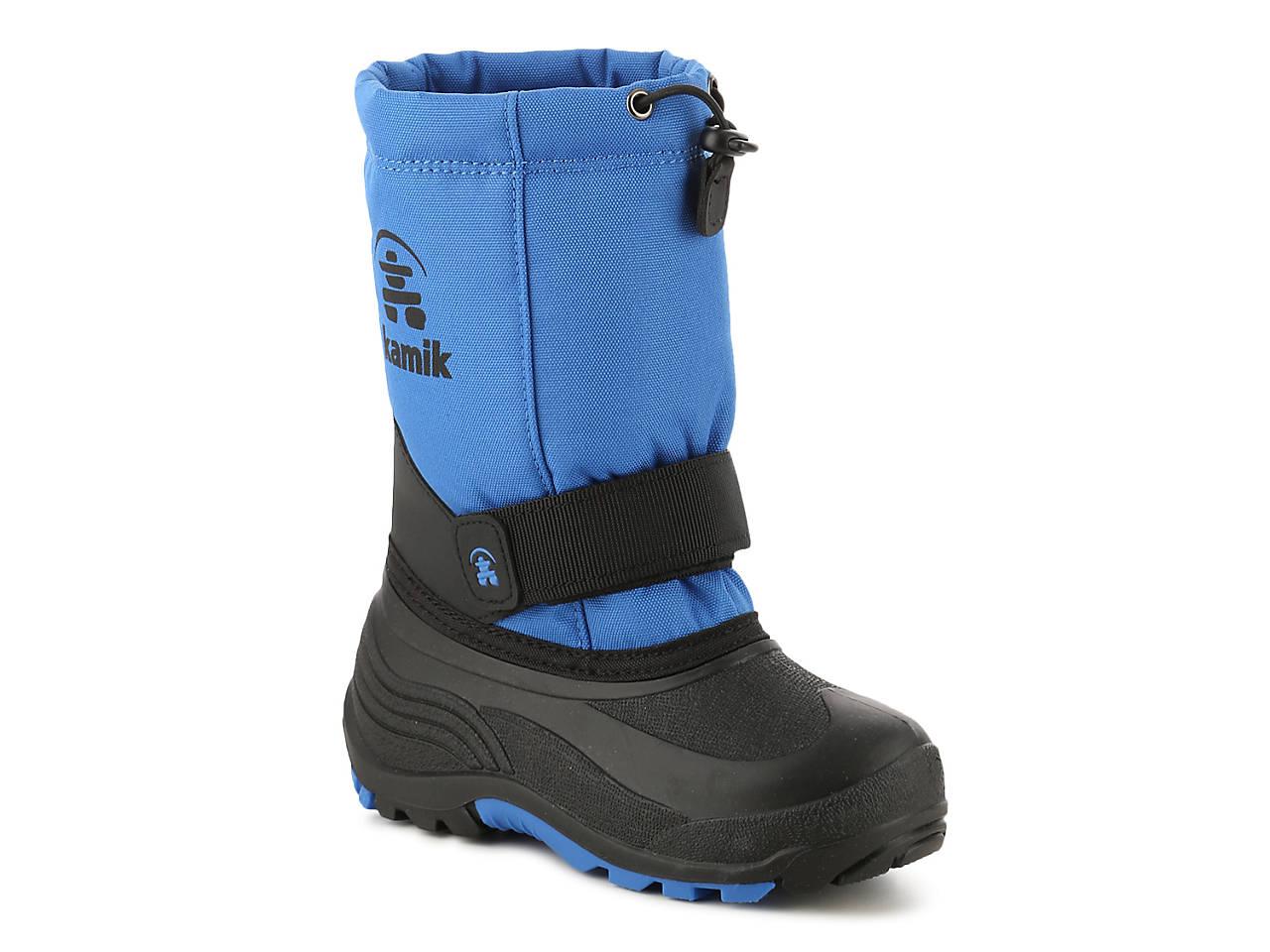 Black sandals for toddler boy - Rocket Toddler Youth Snow Boot