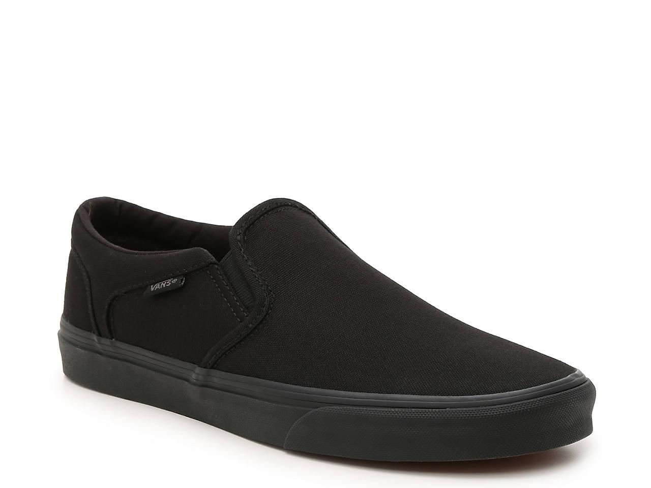 4705b26958b Vans Asher Slip-On Sneaker - Men s Men s Shoes