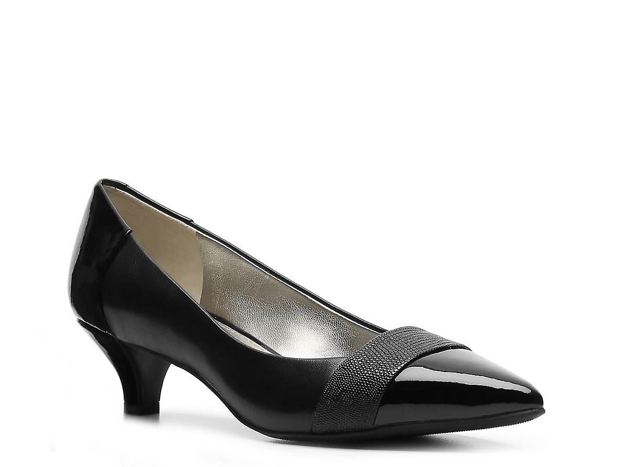 4901bffdda9b Anne Klein McKinley Leather Pump Women s Shoes