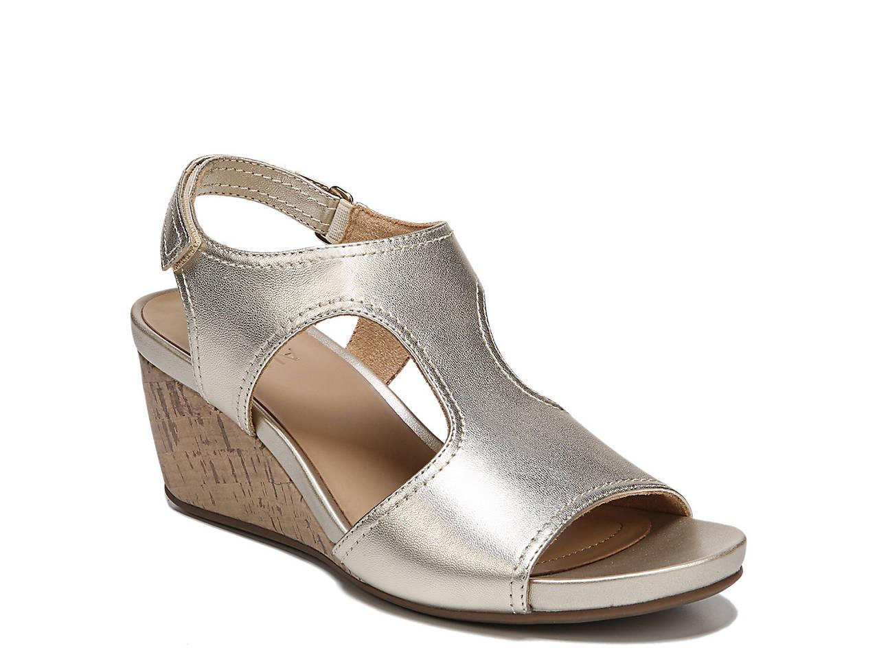 fabc1e79007 Naturalizer Cinda Wedge Sandal Women s Shoes