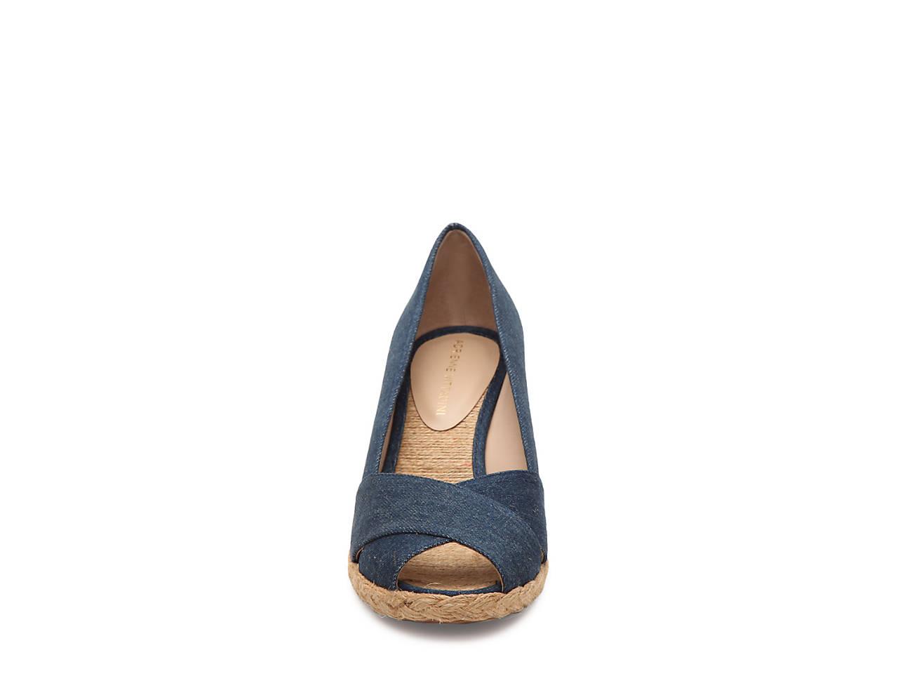20d63abbc730 Adrienne Vittadini Bailee Wedge Pump Women s Shoes