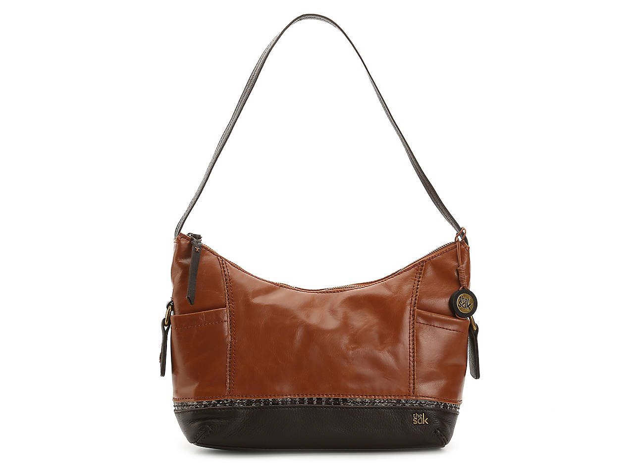 6ed55fed22 The Sak Kendra Leather Shoulder Bag Women s Handbags   Accessories