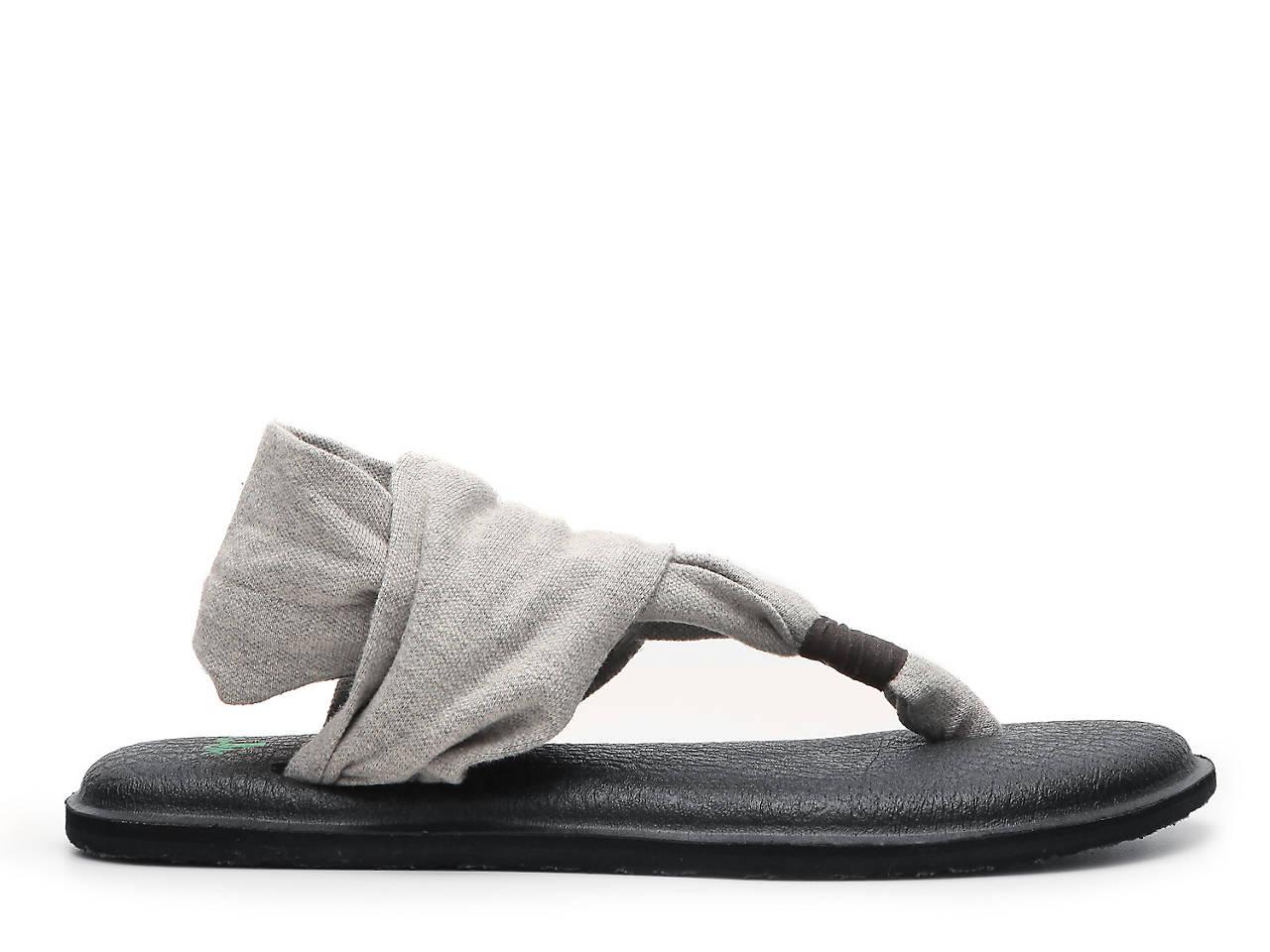 Sanuk Flat Yoga Sling Flat Sanuk Sandalo Donna scarpe   DSW 41149e