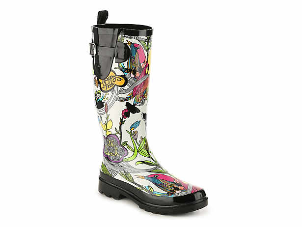 coach rain boots outlet z42b  Rhythm Floral Rain Boot