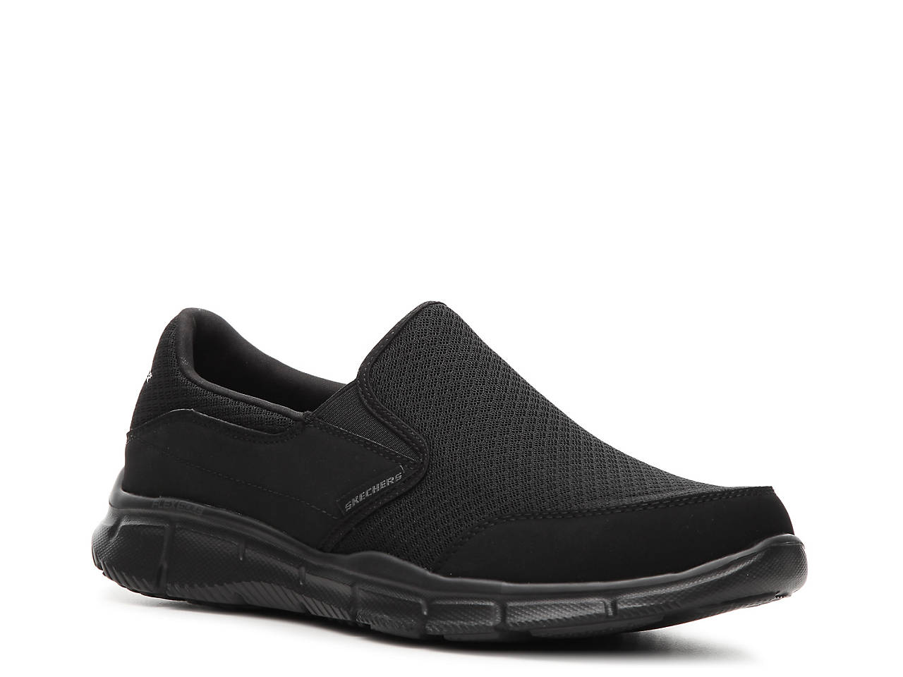 skechers slip on shoes mens