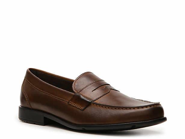 82c6166810e Men s Brown Rockport Dress Loafers