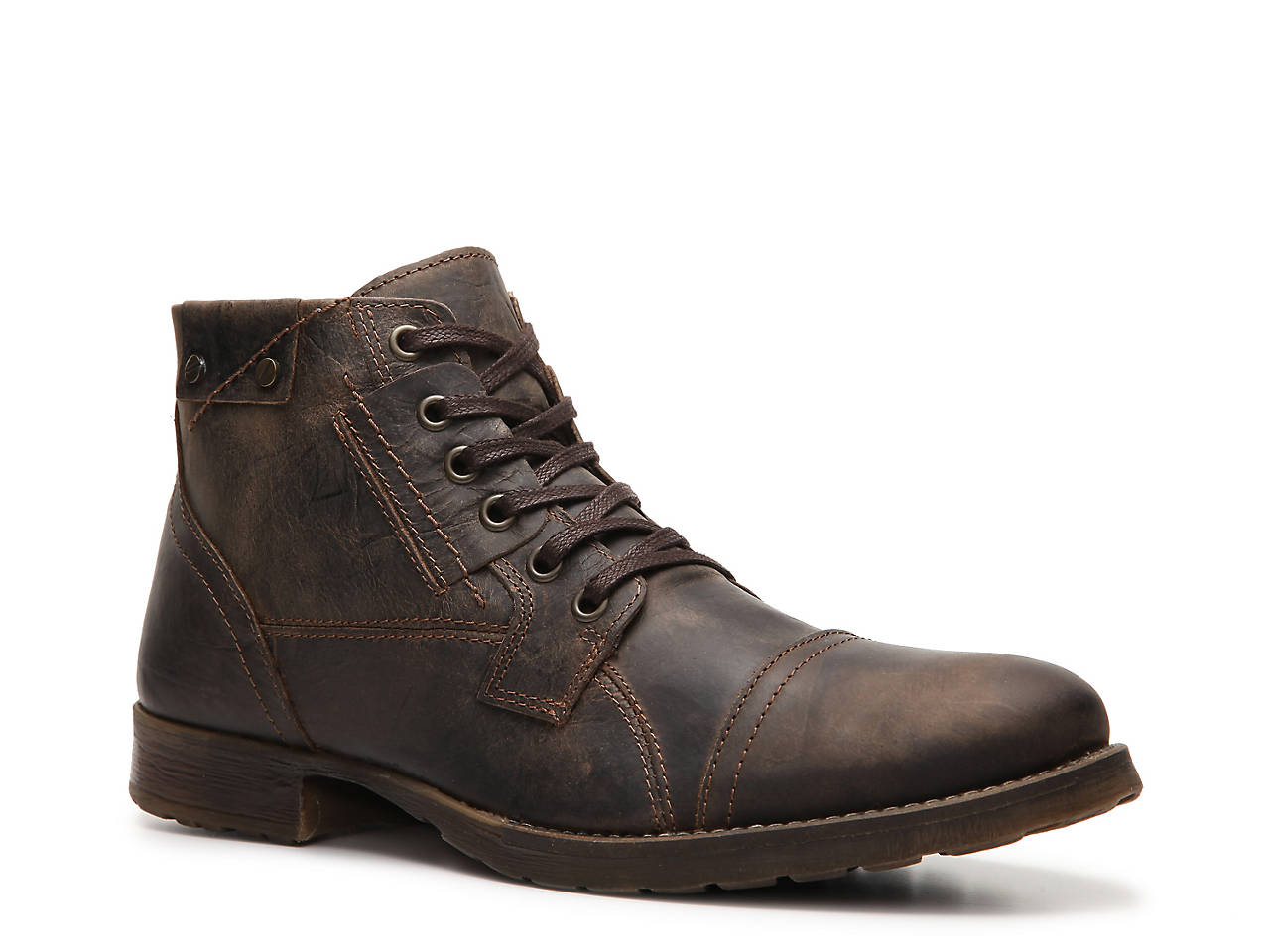 Brosus Cap Toe Boot