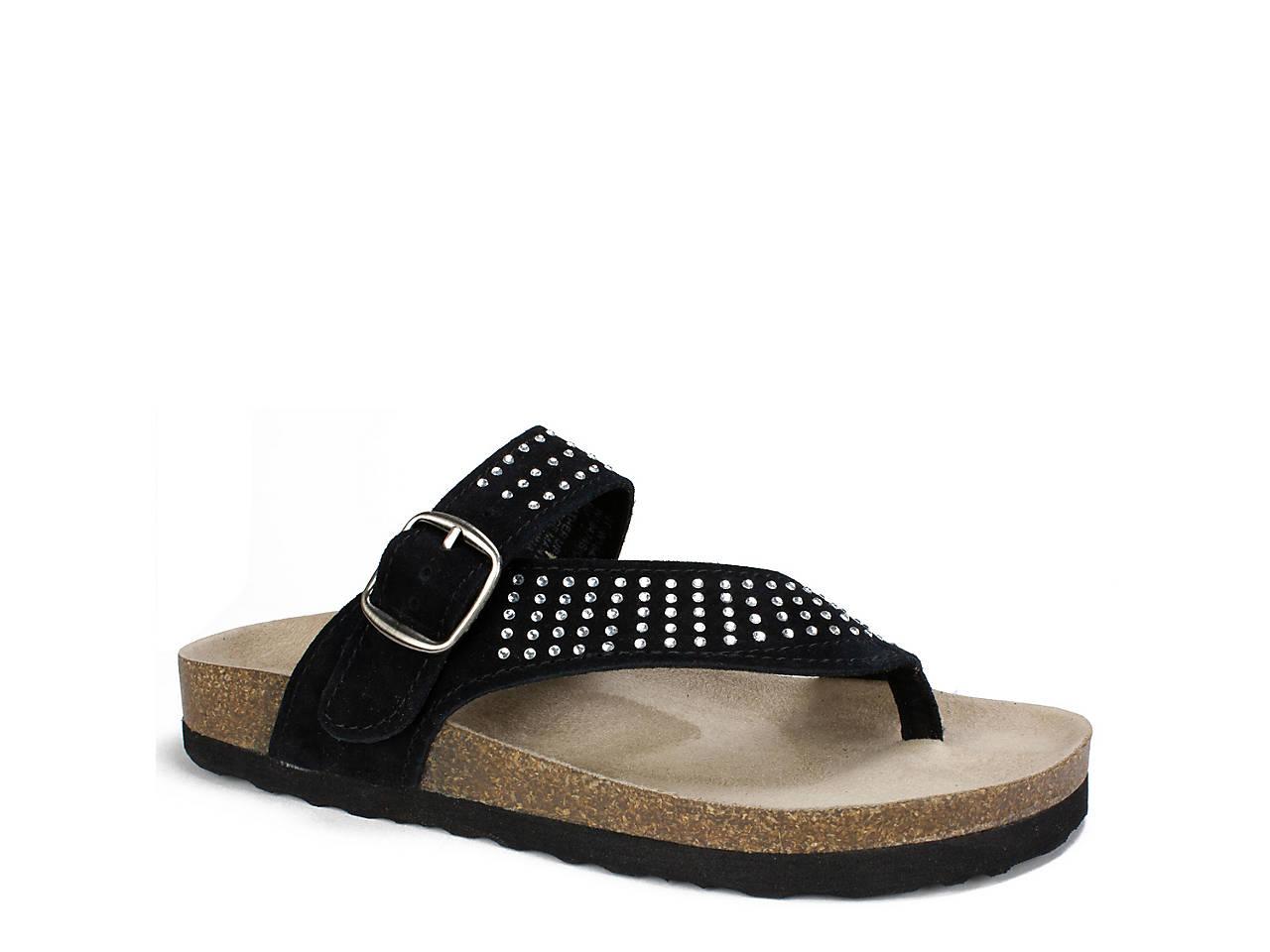 144816ba7712 White Mountain Coaster Flat Sandal Women s Shoes