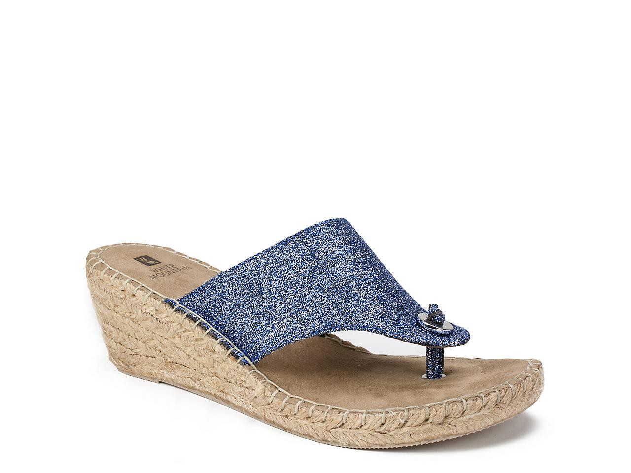 d55044267 White Mountain Beachball Espadrille Wedge Sandal Women s Shoes