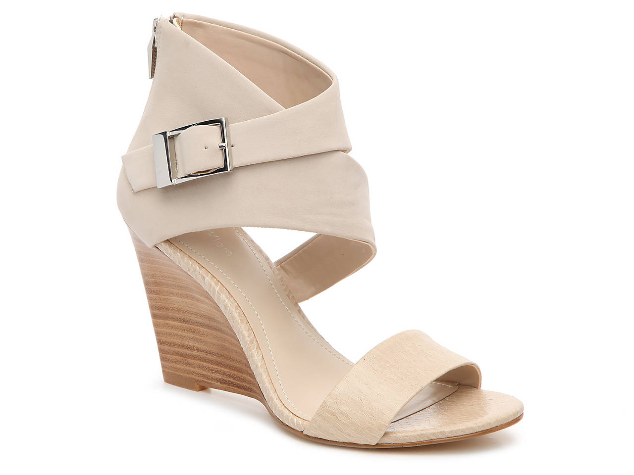e58a8bff091 Calvin Klein Marisa Wedge Sandal Women s Shoes