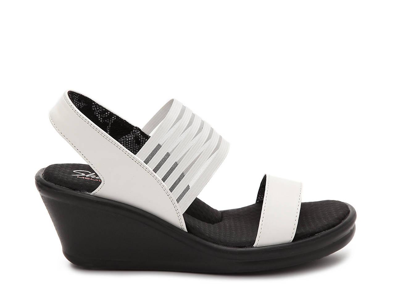 ddc8ccf7e54 Skechers Cali Sci-Fi Wedge Sandal Women s Shoes