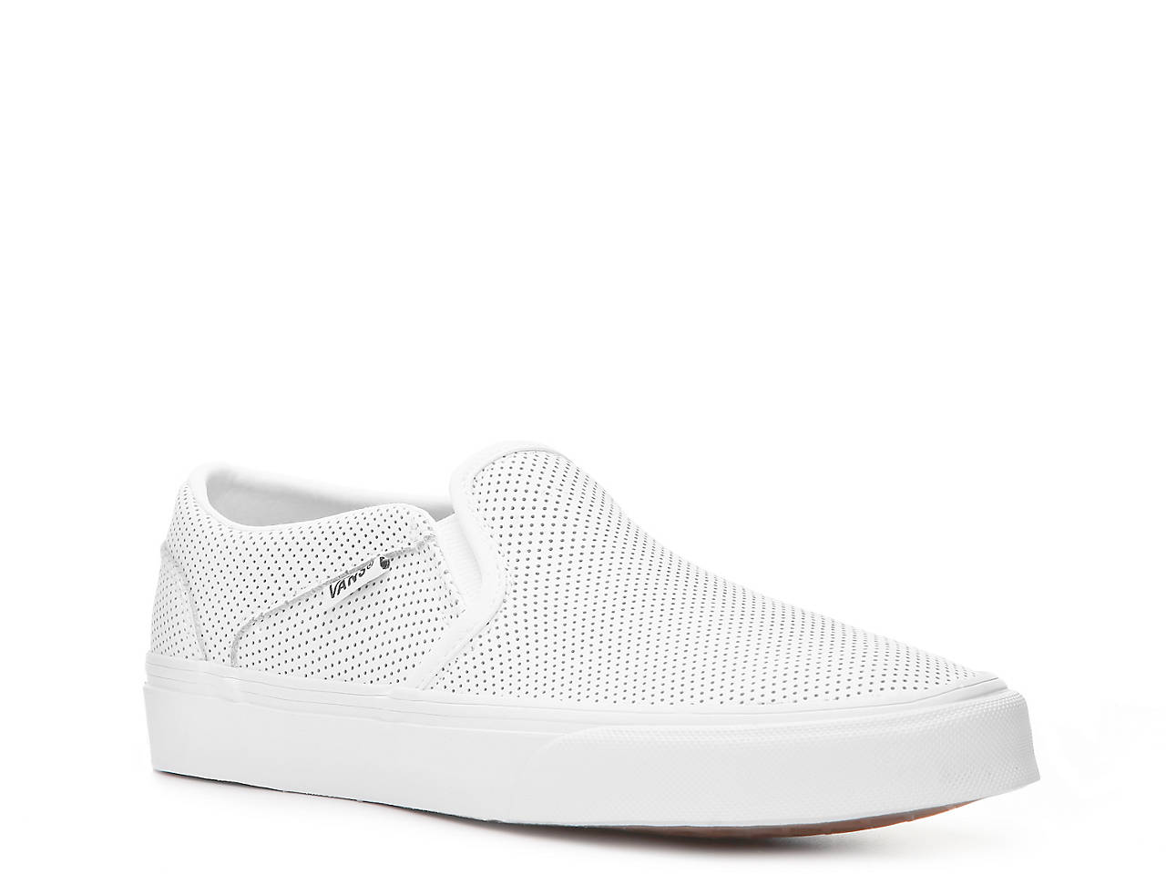 ca96f7c35e75 Vans Asher Perforated Slip-On Sneaker - Women s Women s Shoes