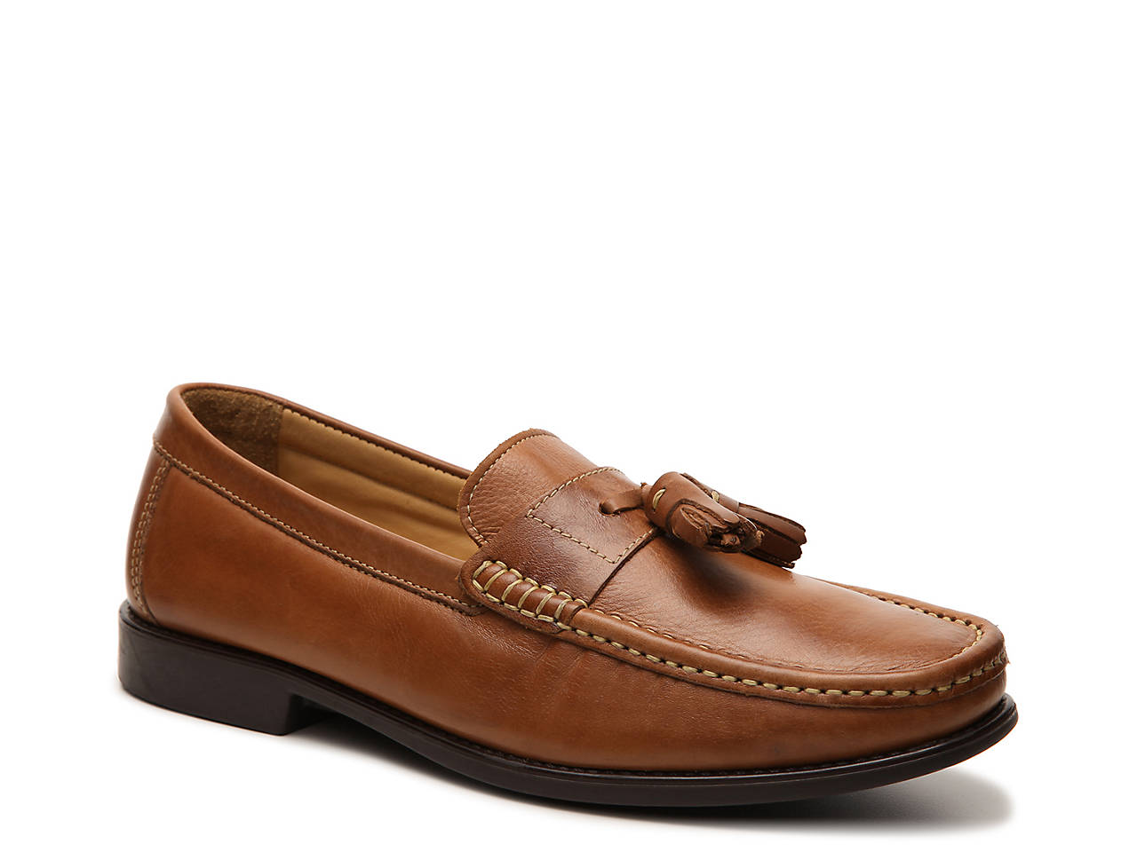Giorgio Brutini Brown Fletch Tassel Loafer Mens