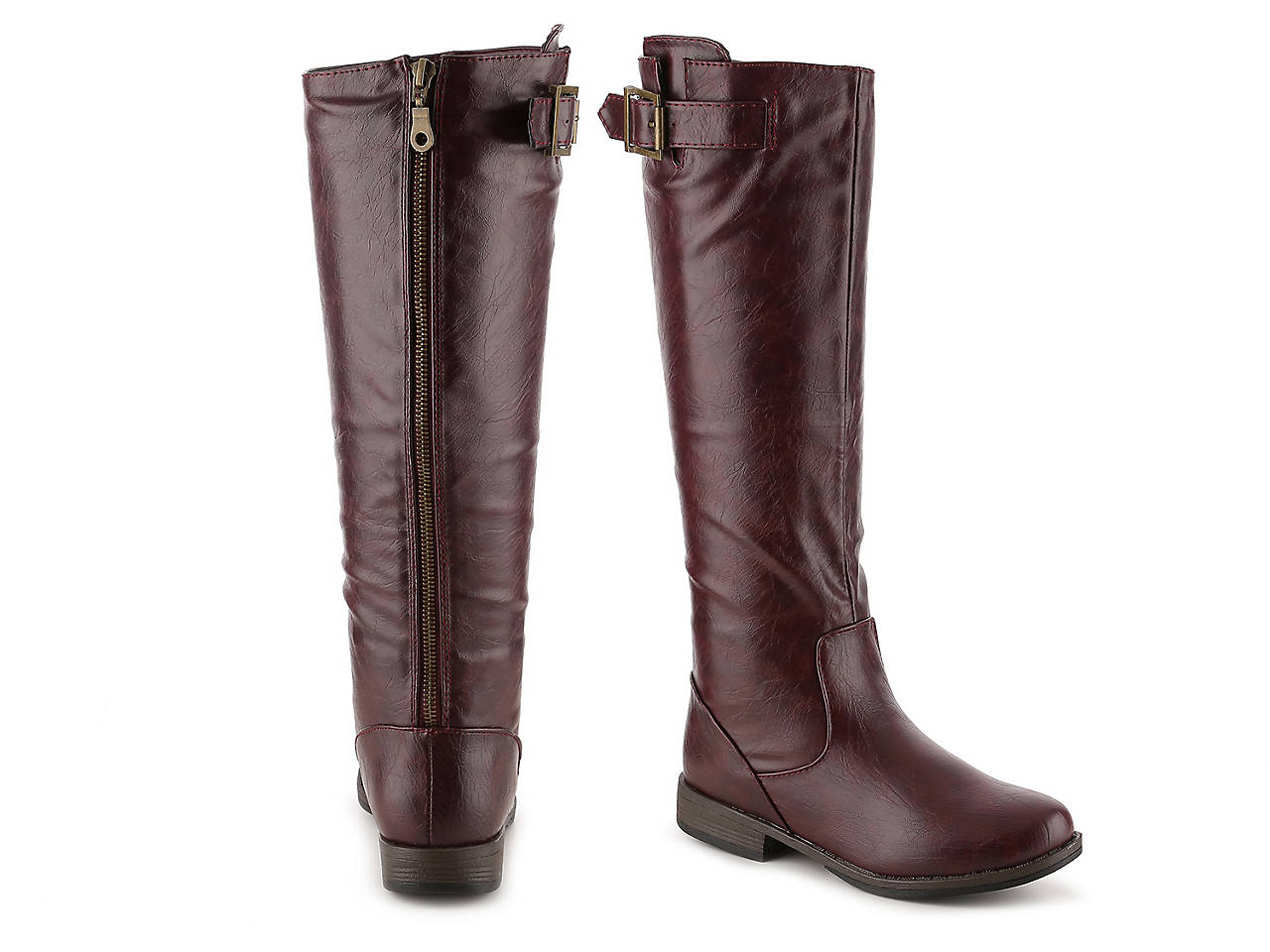 800635740711 Journee Collection Amia Riding Boot Women s Shoes