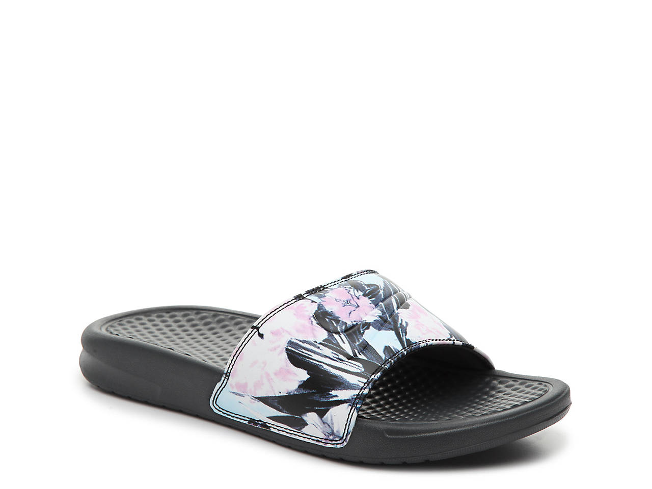 NIKE BENASSI JUST DO IT PRINT FLOWER