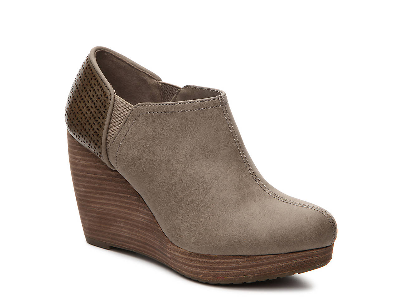 edf3bdcb499f Dr. Scholl s Harlow Wedge Bootie Women s Shoes