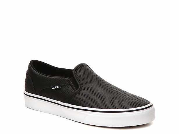 45cffd971b Vans. Asher Perforated Slip-On ...