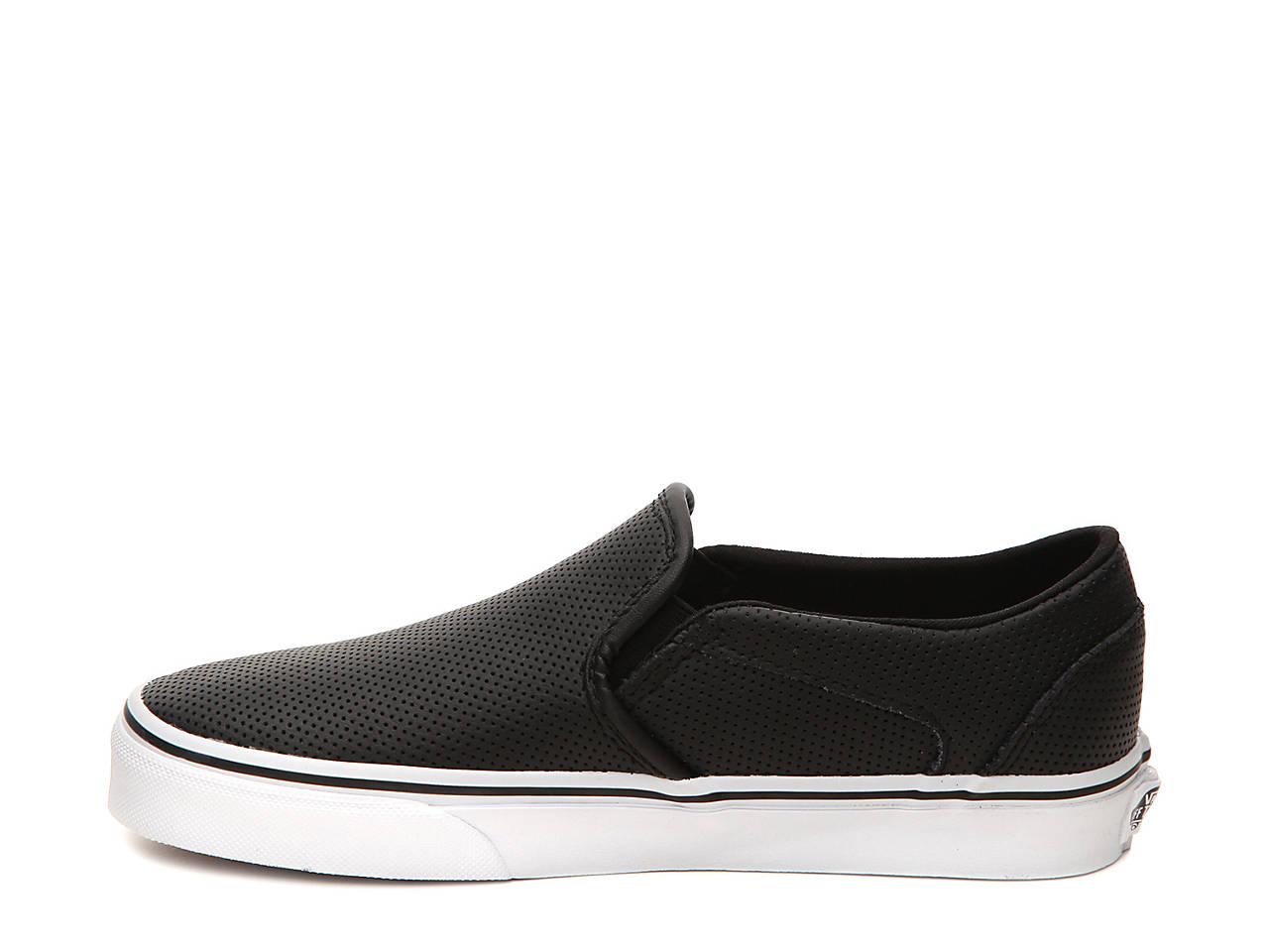88f242d0e3e Vans Asher Perforated Slip-On Sneaker - Women s Women s Shoes