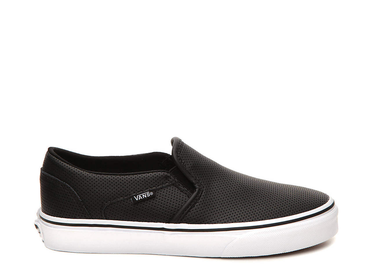 Vans Asher Perforated Slip-On Sneaker - Women s Women s Shoes  d93bf039a