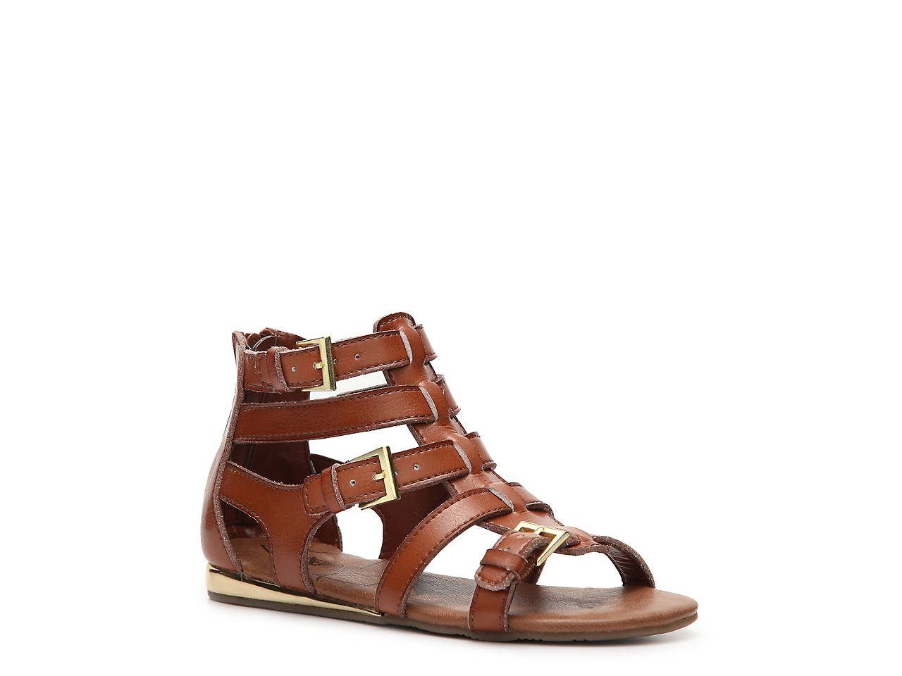 9c3147efb92 Kenneth Cole Reaction Kiss N Shell Youth Gladiator Sandal Kids Shoes ...