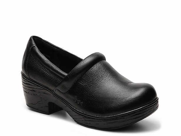 Nadiyya Leather Clog B O C