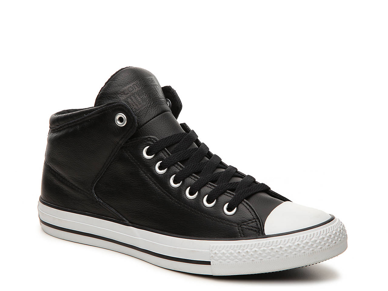 Men's Converse Chuck Taylor ... All Star Leather High Top Shoes N1rv7kE
