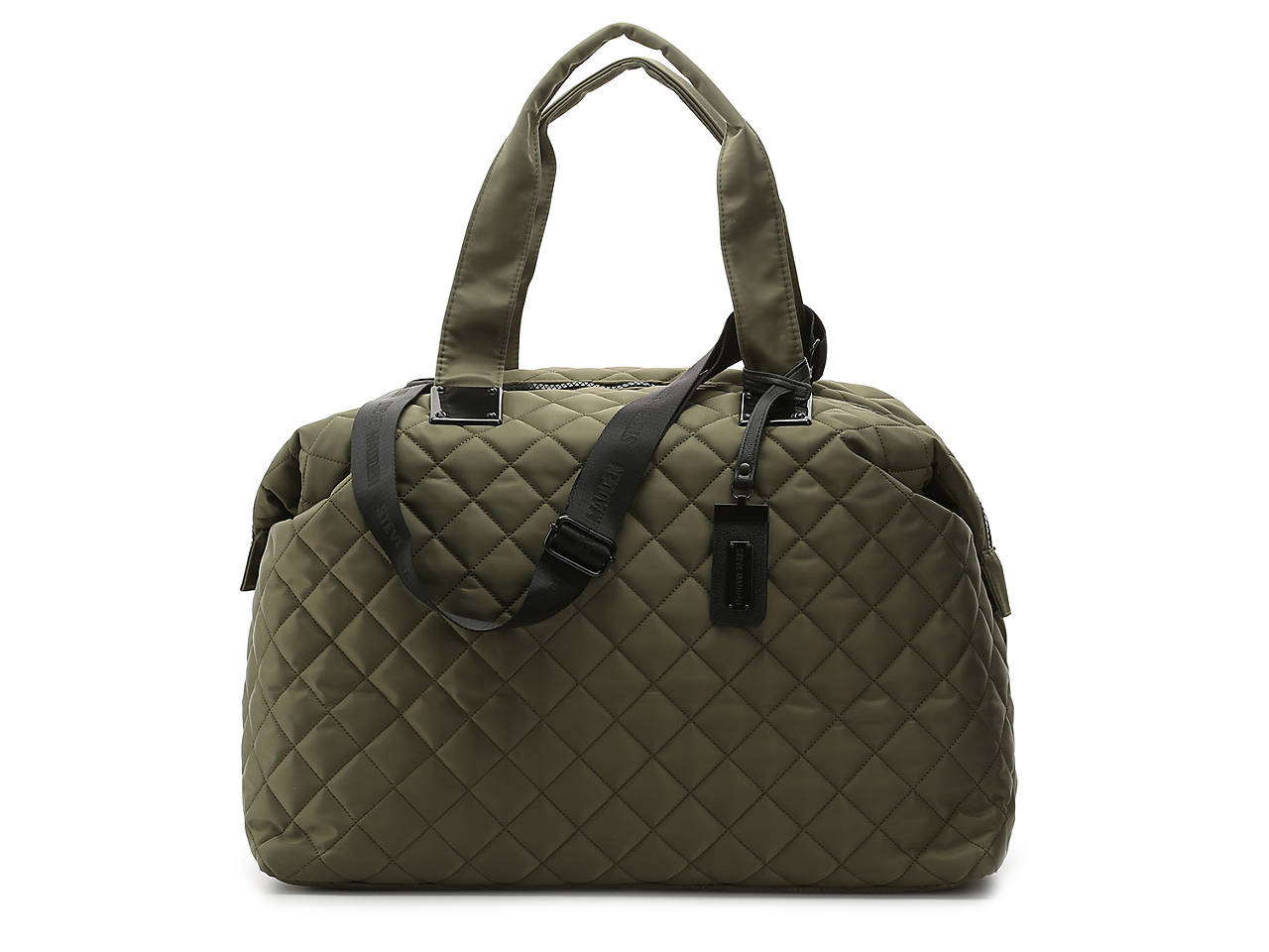 815232613b Steve Madden Quilted Weekender Bag Women s Handbags   Accessories