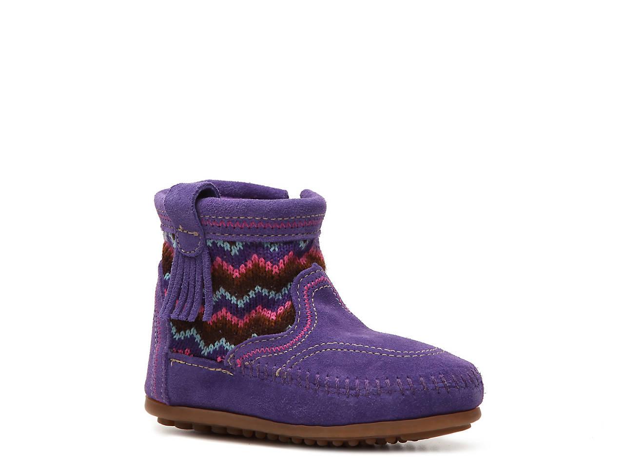 Minnetonka Aspen Boot Violeta 3gemCBJT