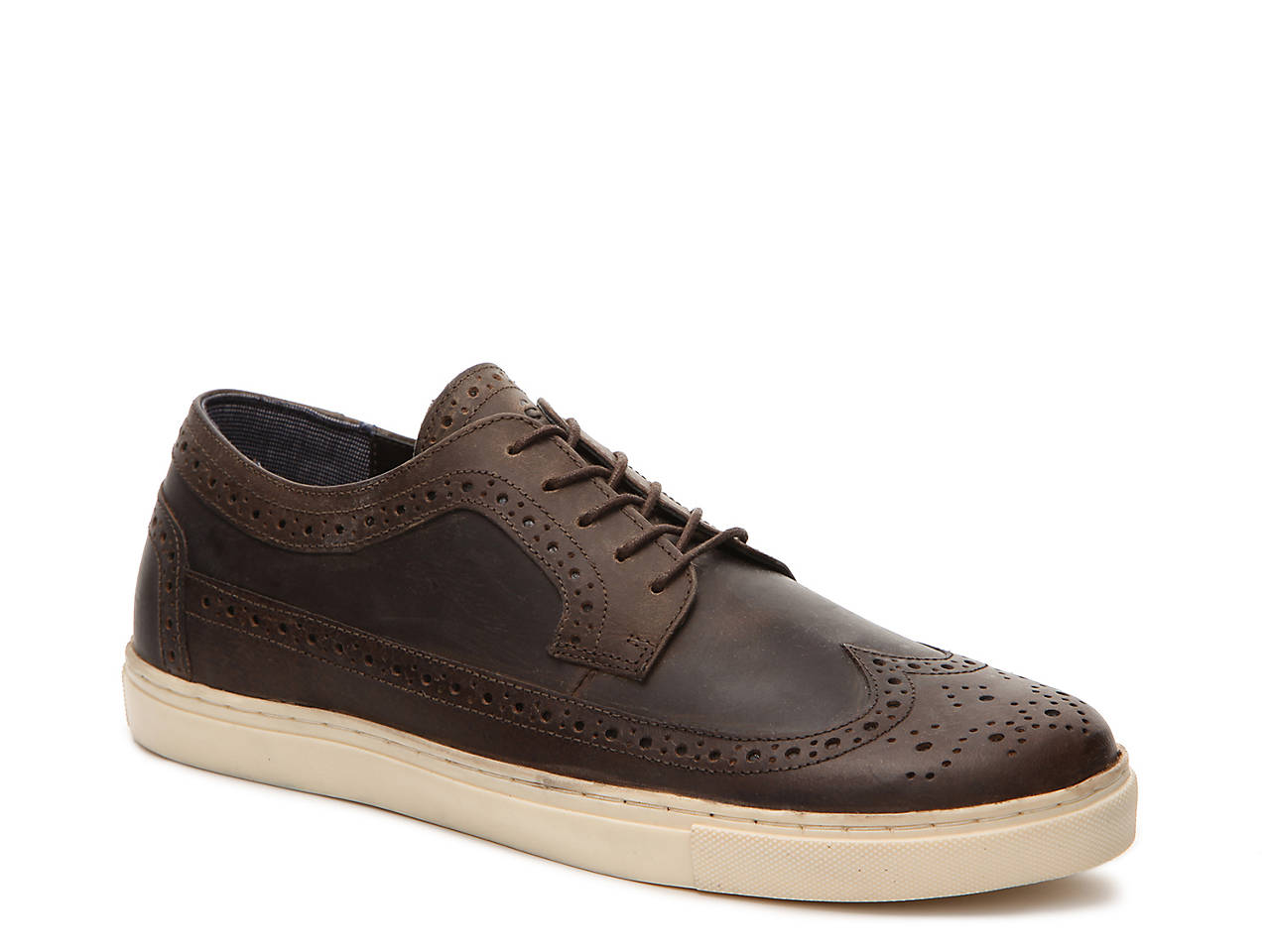 Crevo Men's Scholar Wing Tip Oxford