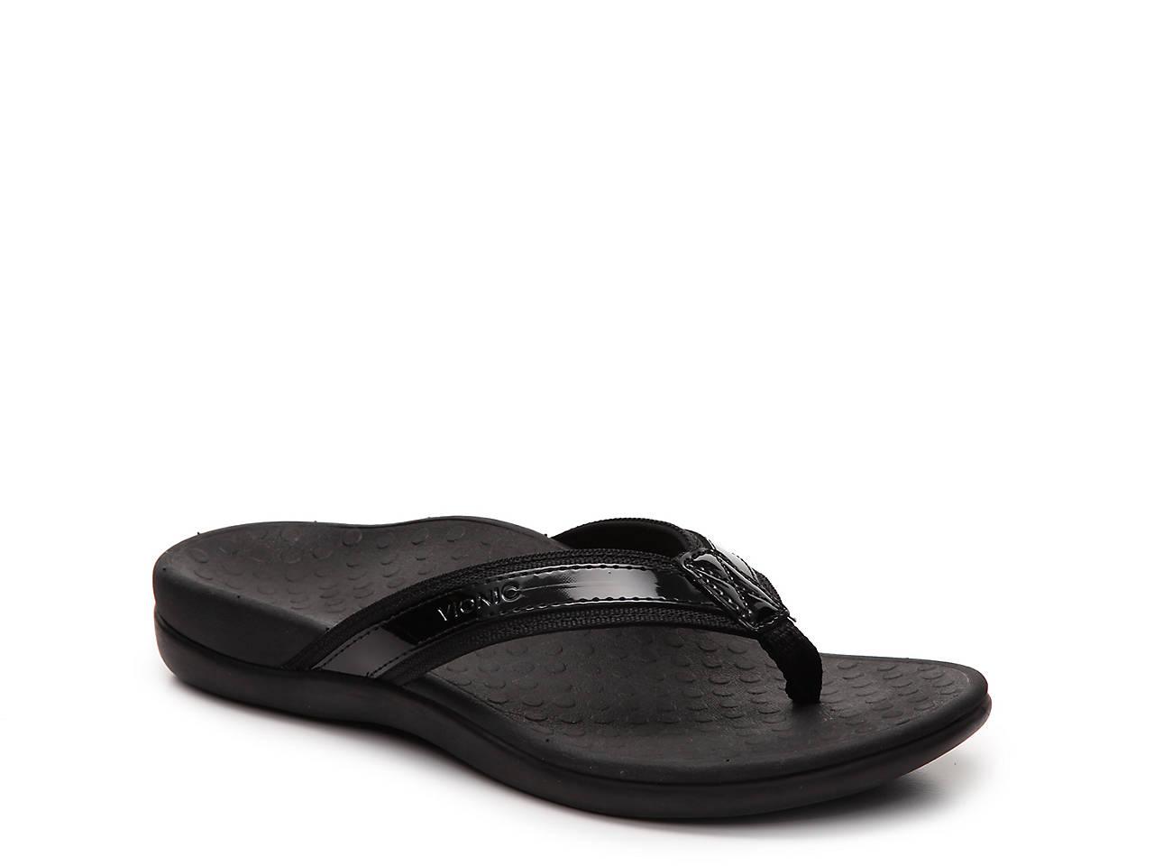 Vionic Tide Ii Flip Flop Womens Shoes  Dsw-3839