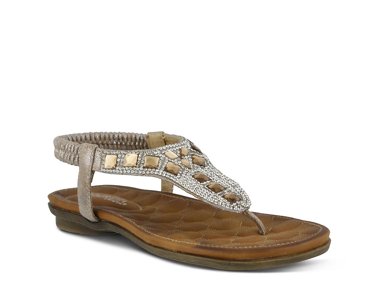 02bae79c7361 Patrizia by Spring Step Renata Flat Sandal Women s Shoes