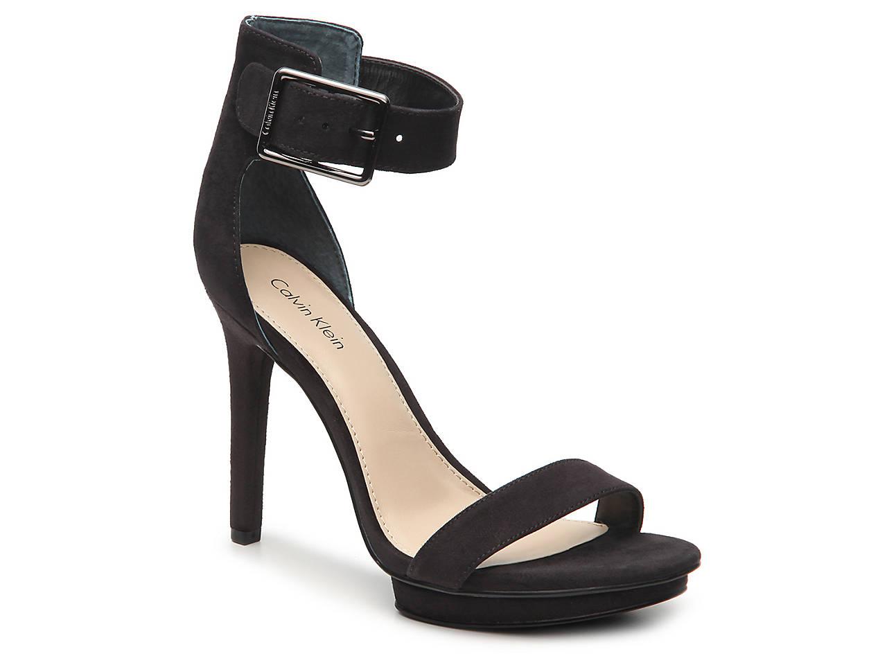 65eeb798392 Calvin Klein Vivian Platform Sandal Women s Shoes